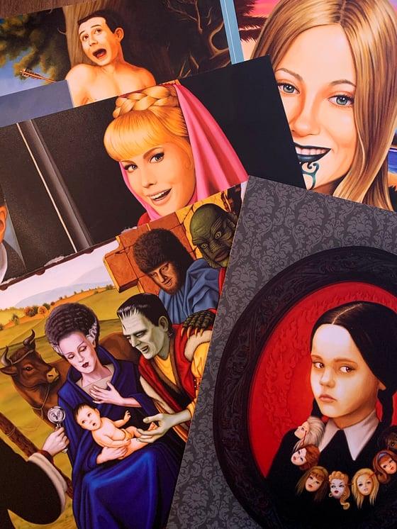 Image of On Tender Hooks: 30 Postcards by Isabel Samaras