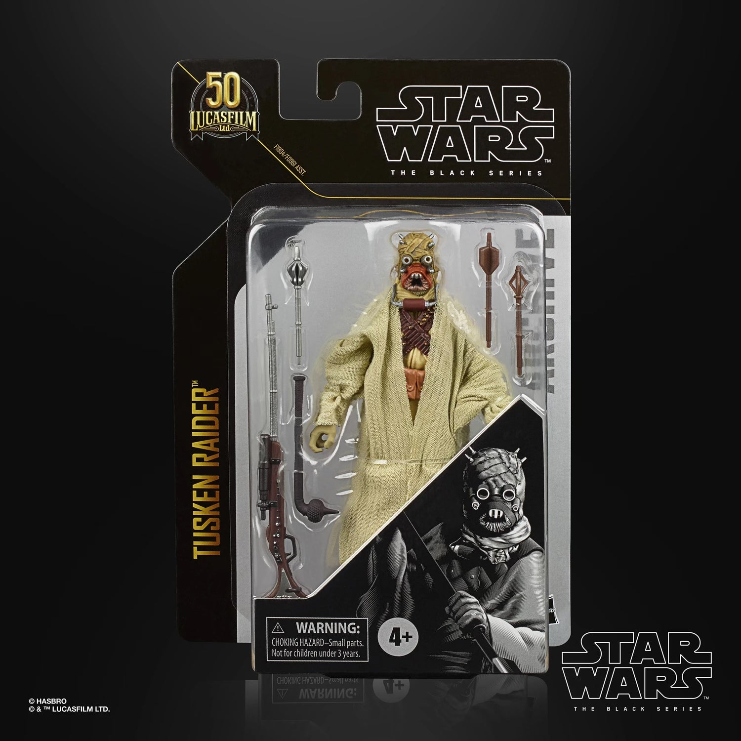 Image of Star Wars The Archive Series Wave 3 Tusken Raider
