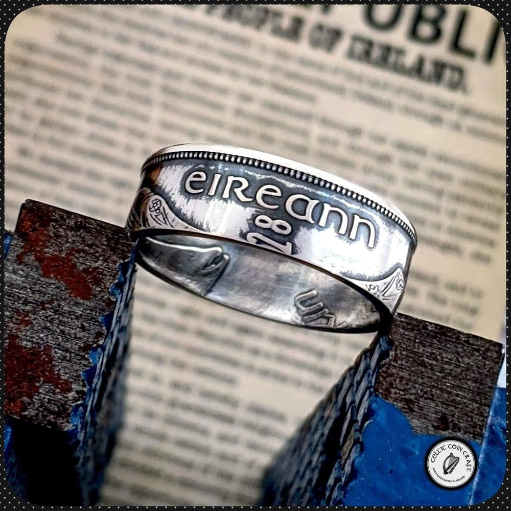 Saorstát Éireann (Irish Free State) Florin Coin Ring