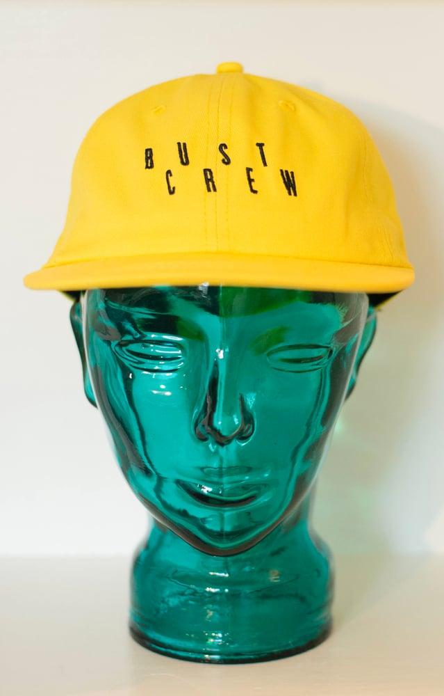 Image of Bust Crew Hat PeePee Yellow