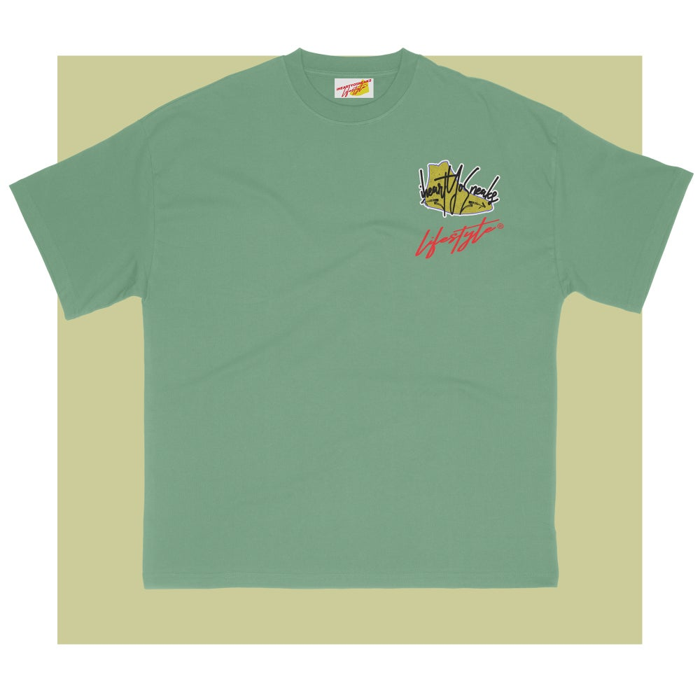 iHeartyosneaks pocket tee