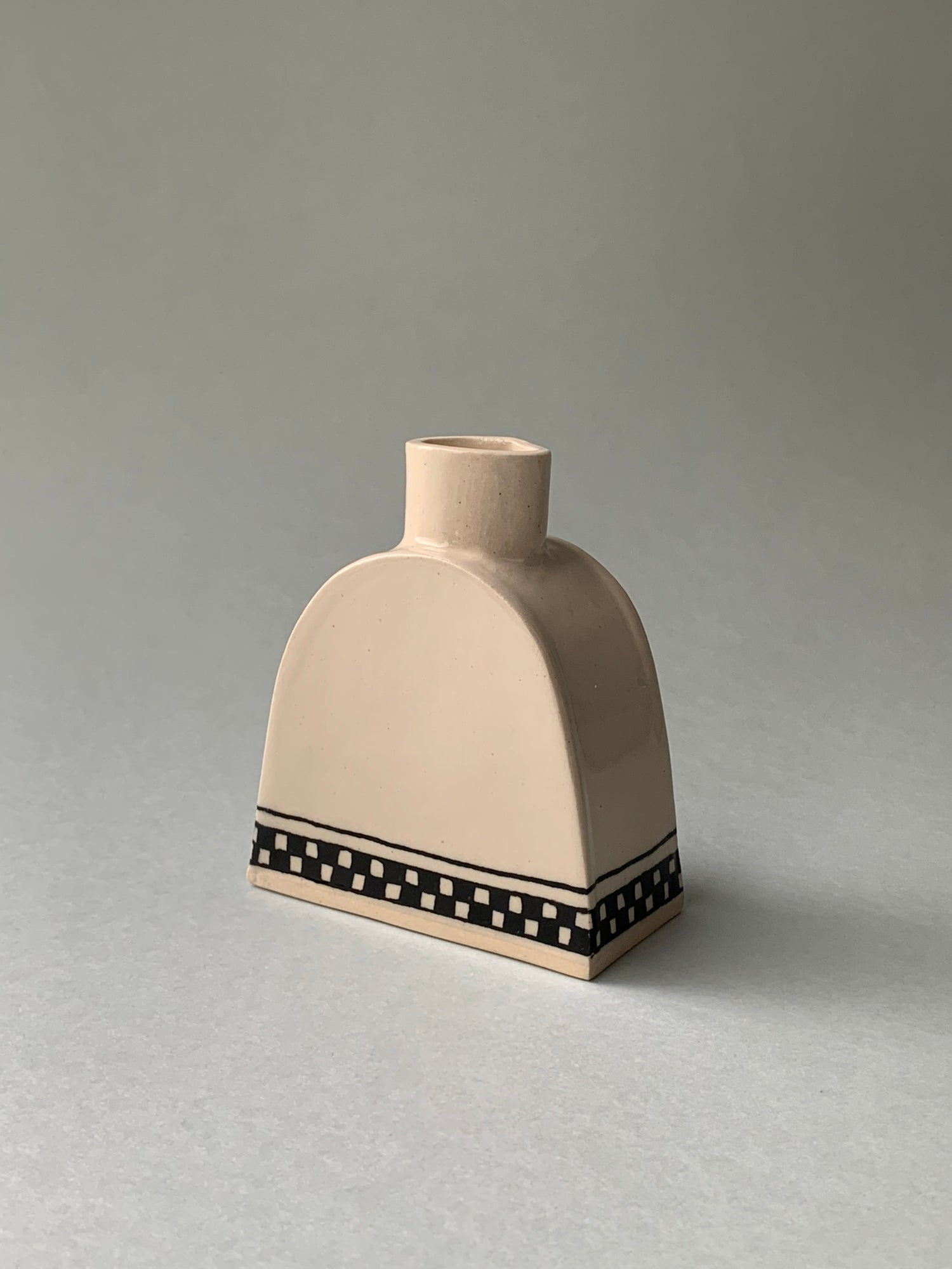 Image of Checkerboard Candleholder (Made to order)