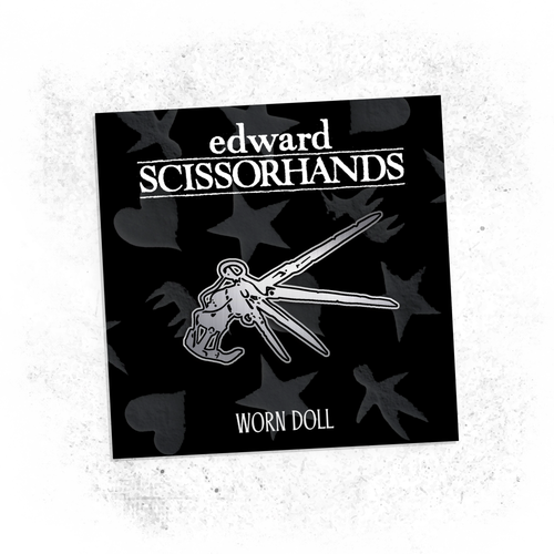 Image of SCISSORHANDS ENAMEL PIN