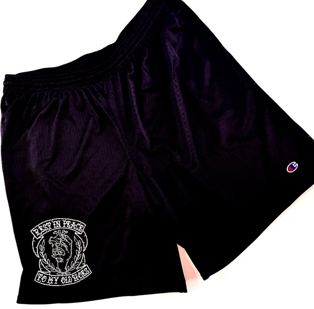 Image of EMBLEM BASKETBALL SHORTS