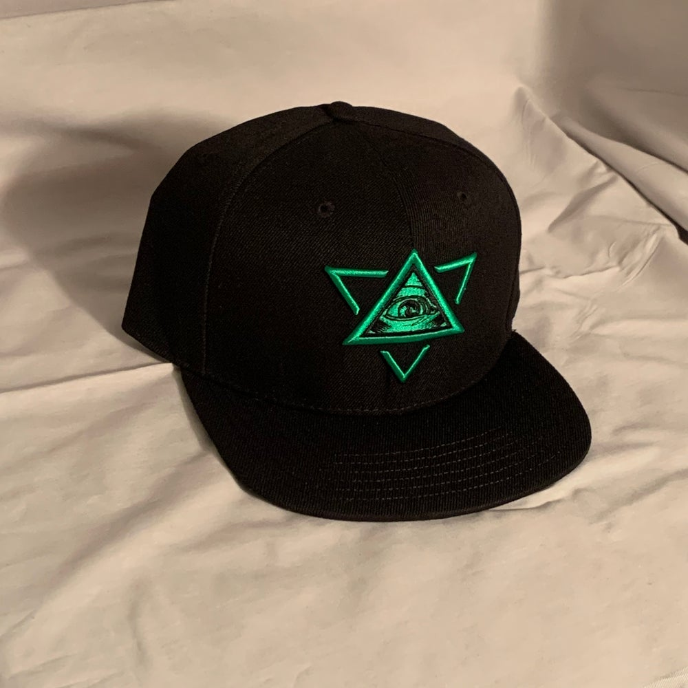 Image of Limited Green Star Snapback! (only  5 left! )