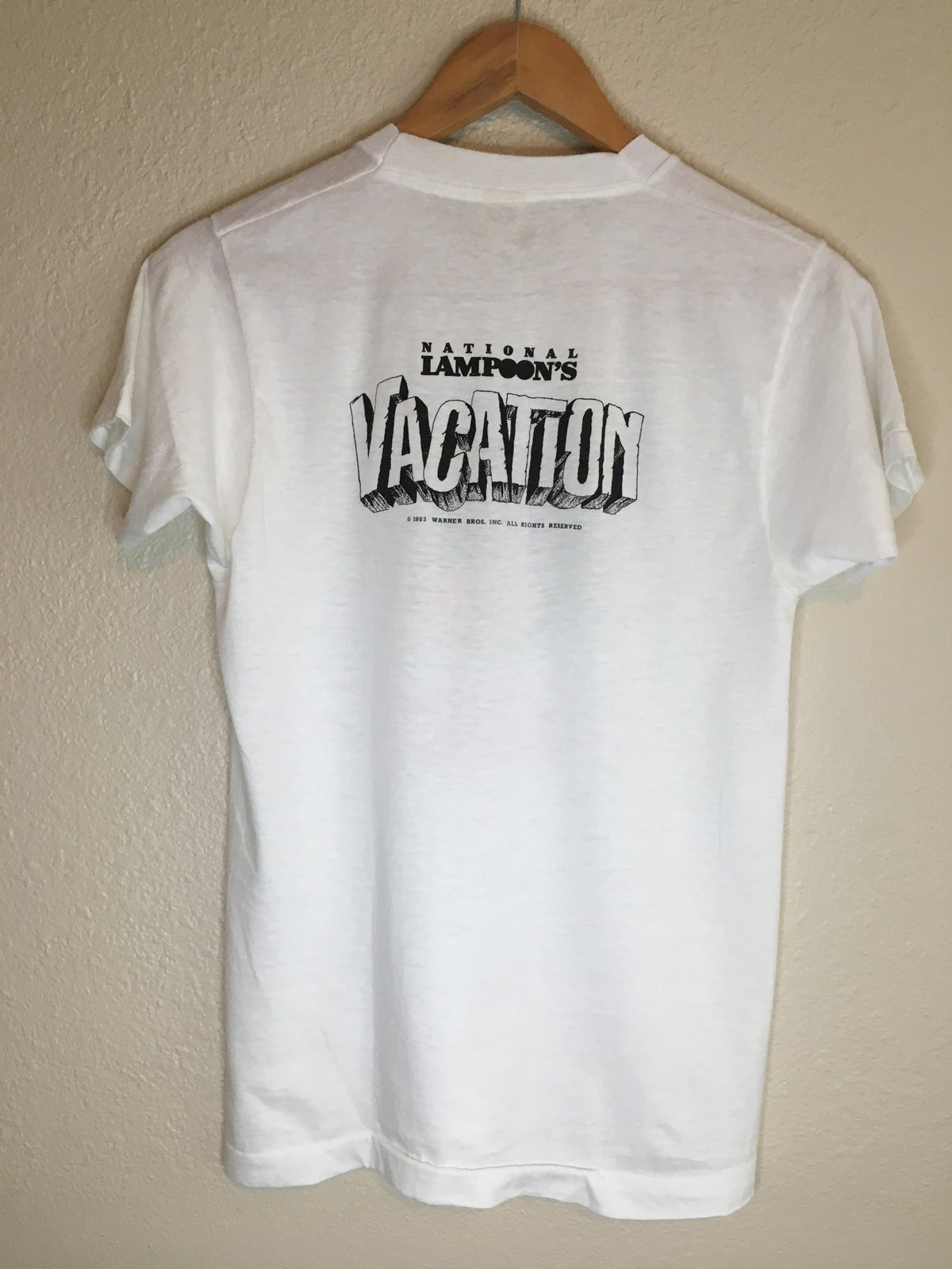1983 National Lampoon's Vacation Promo  Tee