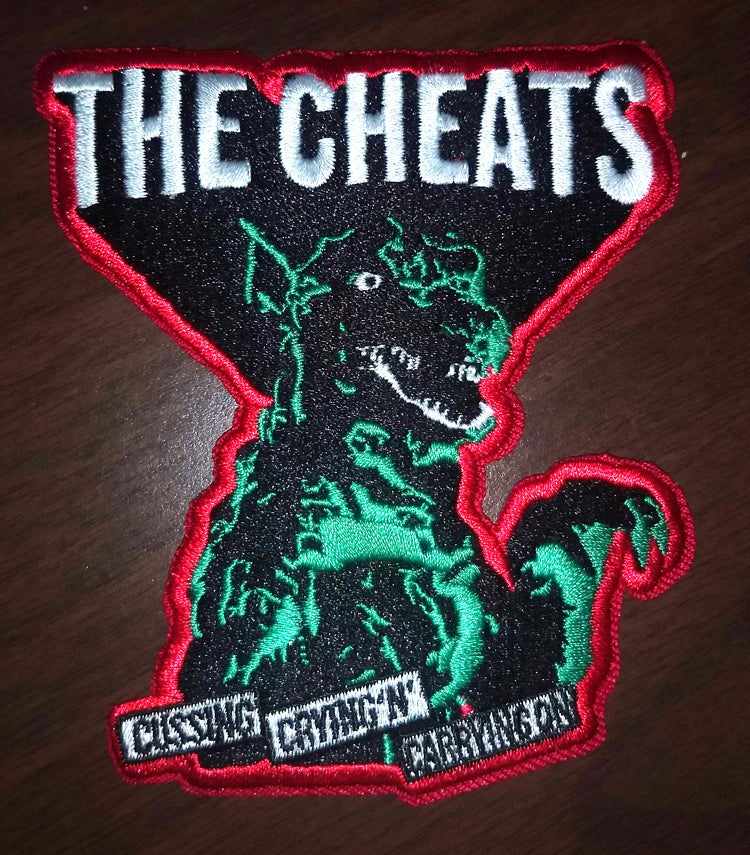 "The Cheats ""Cussin, Crying N Carrying On"" Gorgo patch"