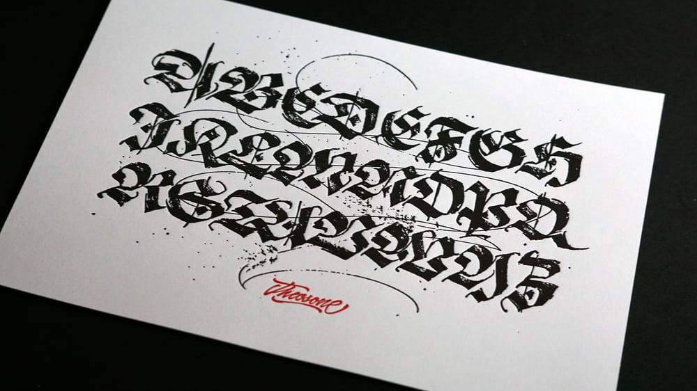 Image of Leterpress Alphabet