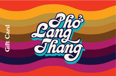 Image of $50 Pho Lang Thang Gift Card (Taste of Cincinnati All Winter Long Special)