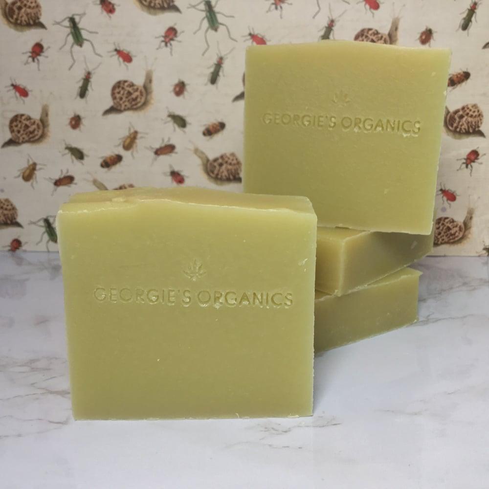Image of Organic hemp soap. Lemon Sherbet