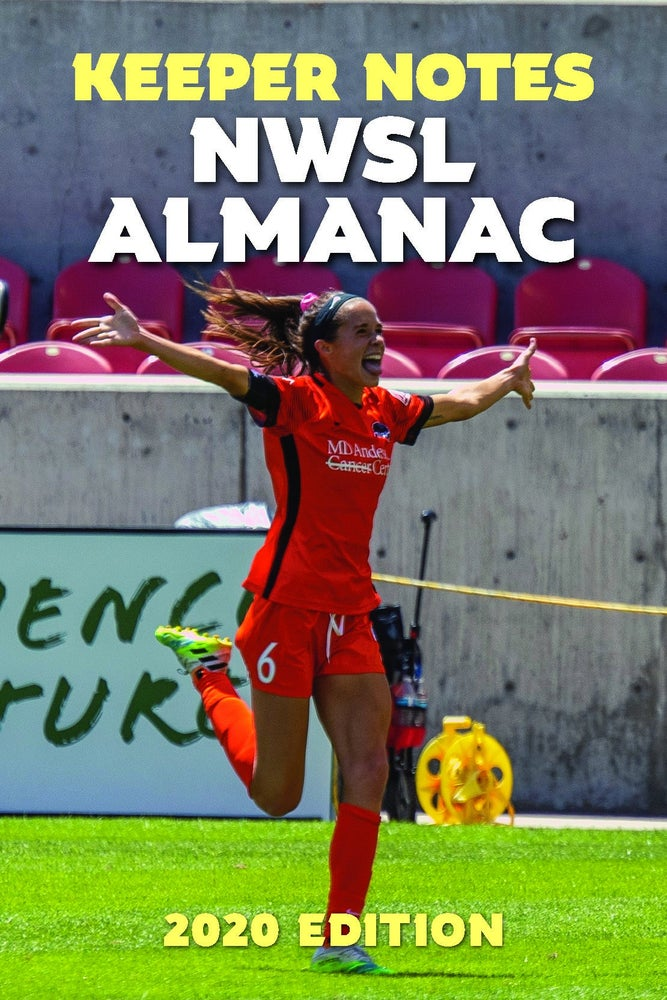 Image of 2020 KEEPER NOTES NWSL ALMANAC — PDF ONLY — PRE-ORDER
