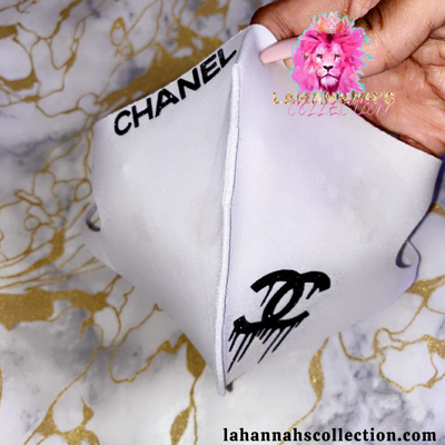 Image of Drippy Chanel Mask