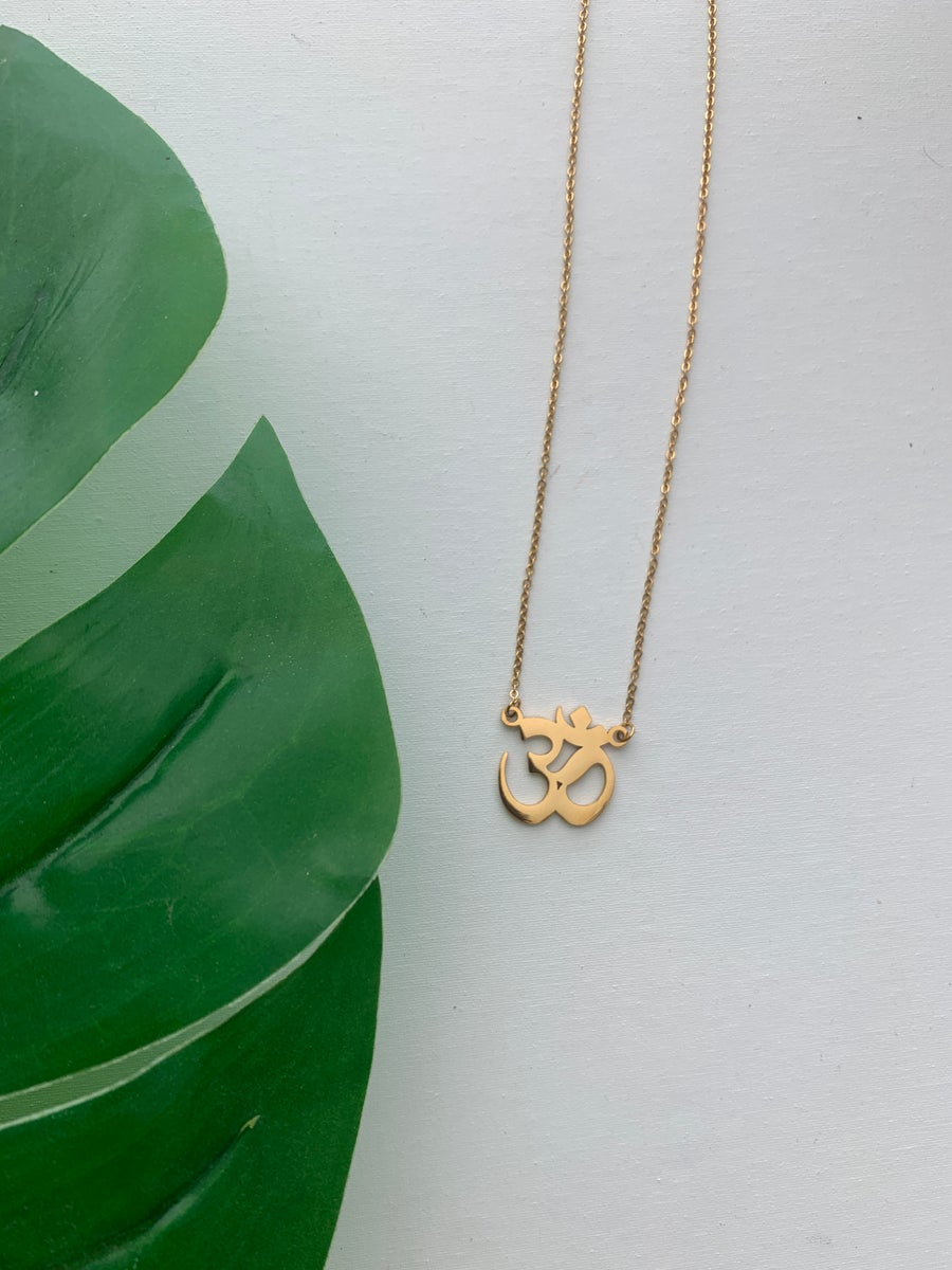Image of OM MY • Om Necklace