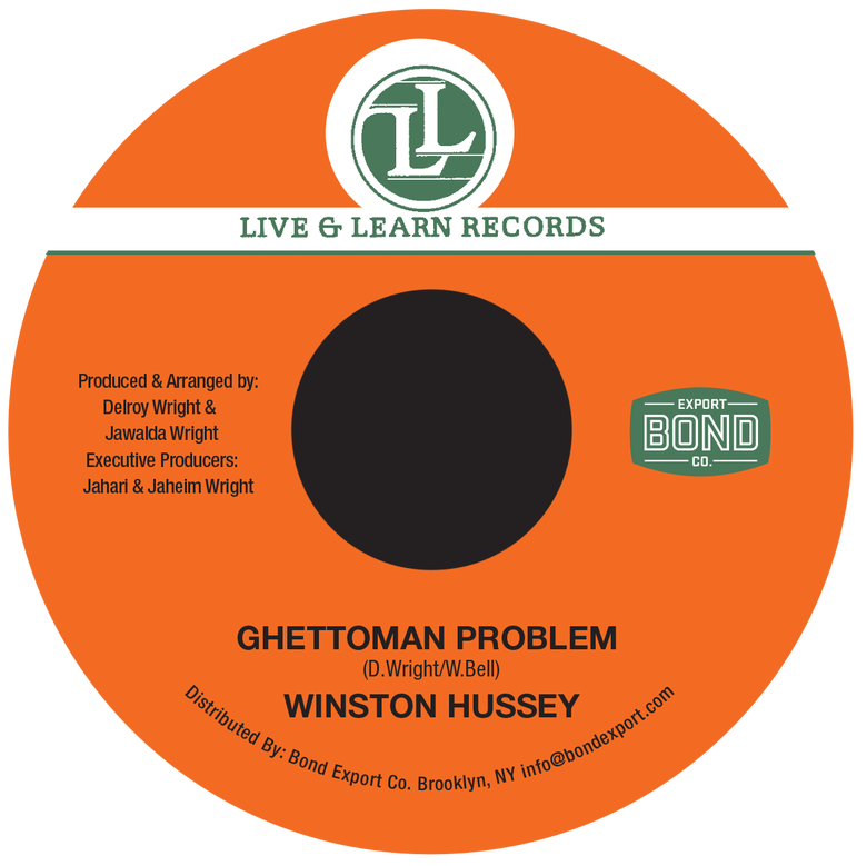 "Image of Winston Hussey - Ghettoman Problem 7"" (Live & Learn)"
