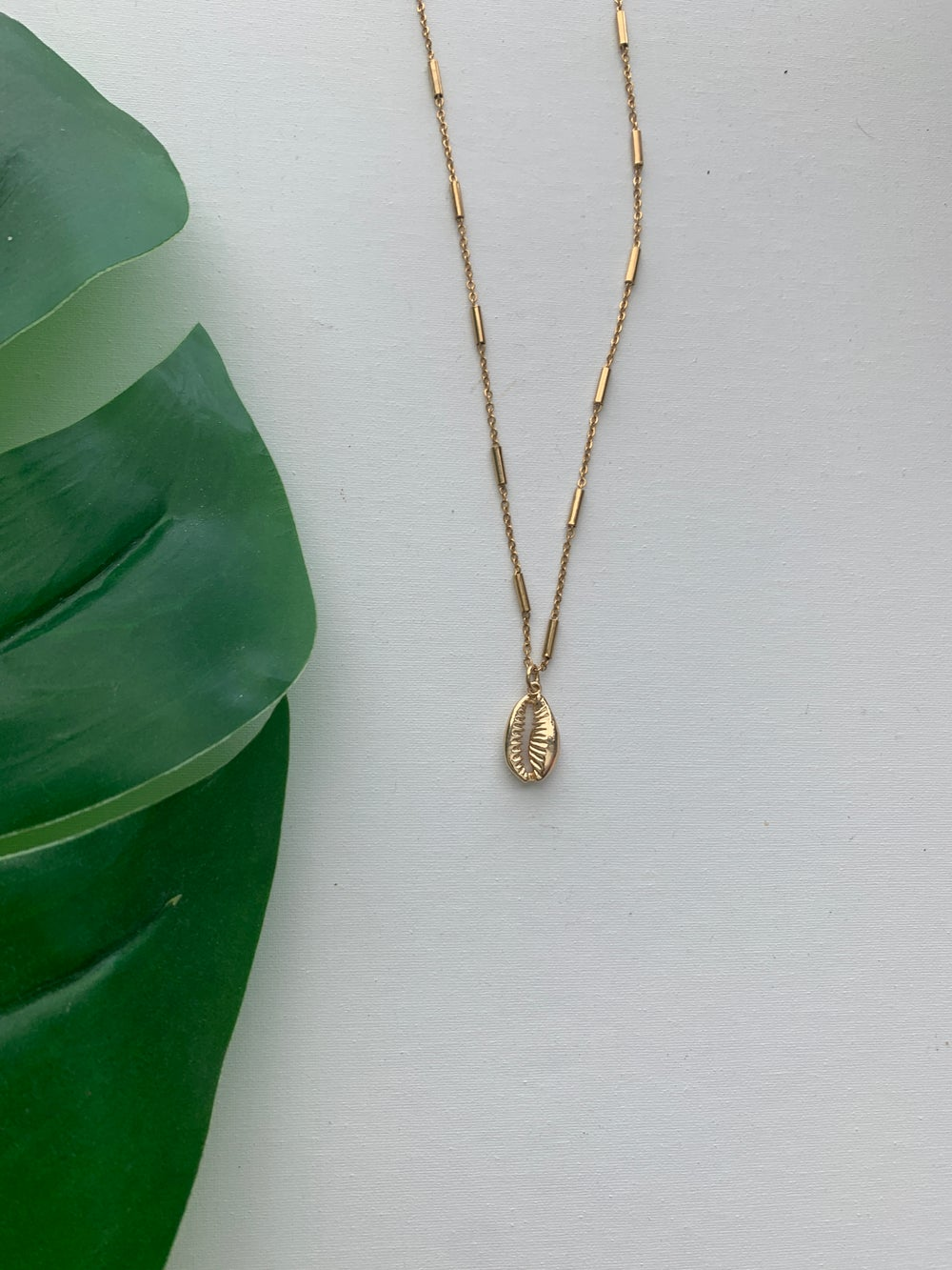 Image of CURREN$Y • Cowrie Necklace