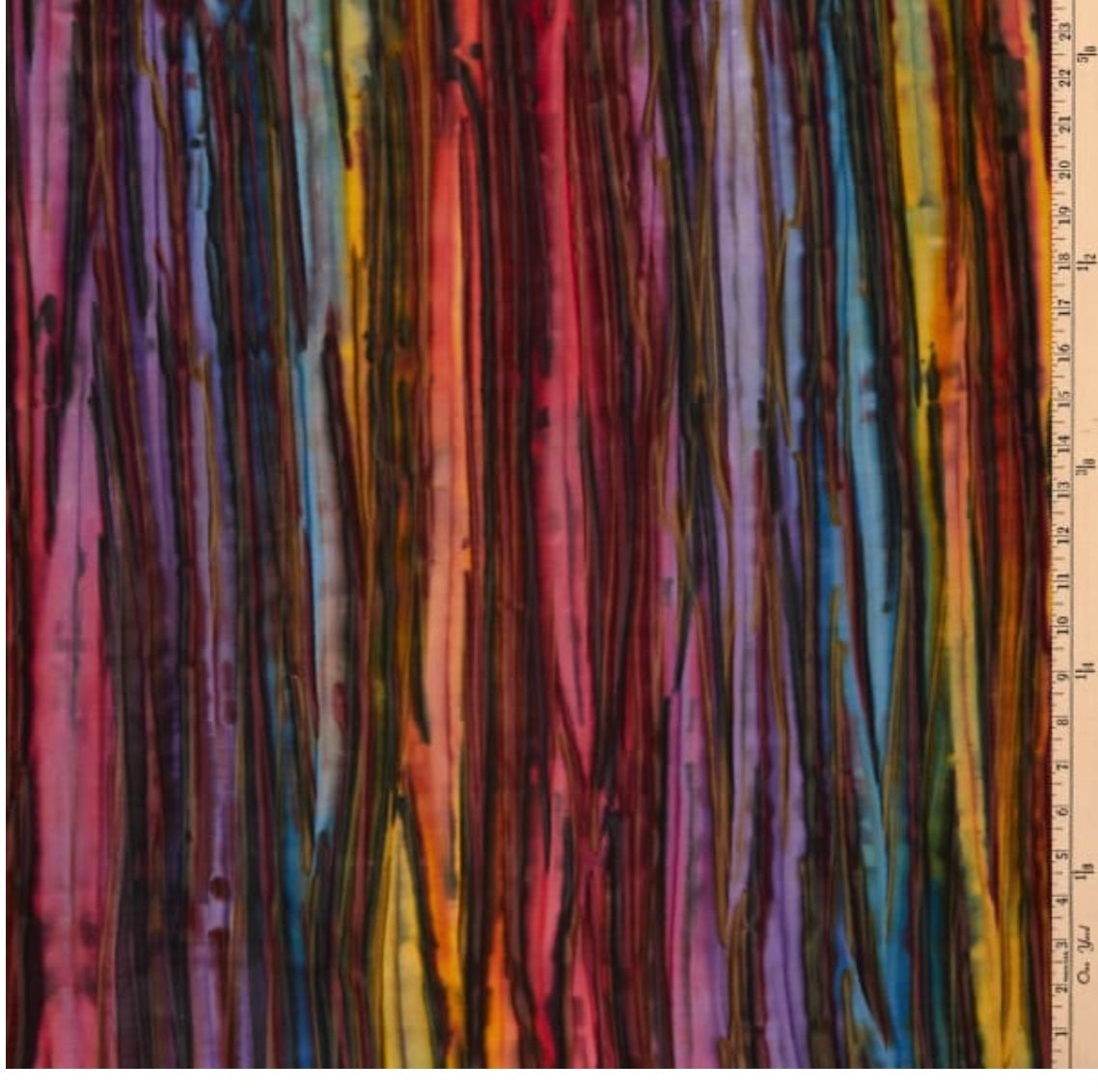 Image of Patina Handpaints Stripes Wild Two Shade 40cm