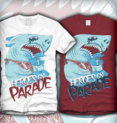 Image of Heroes On Parade Shark Tee