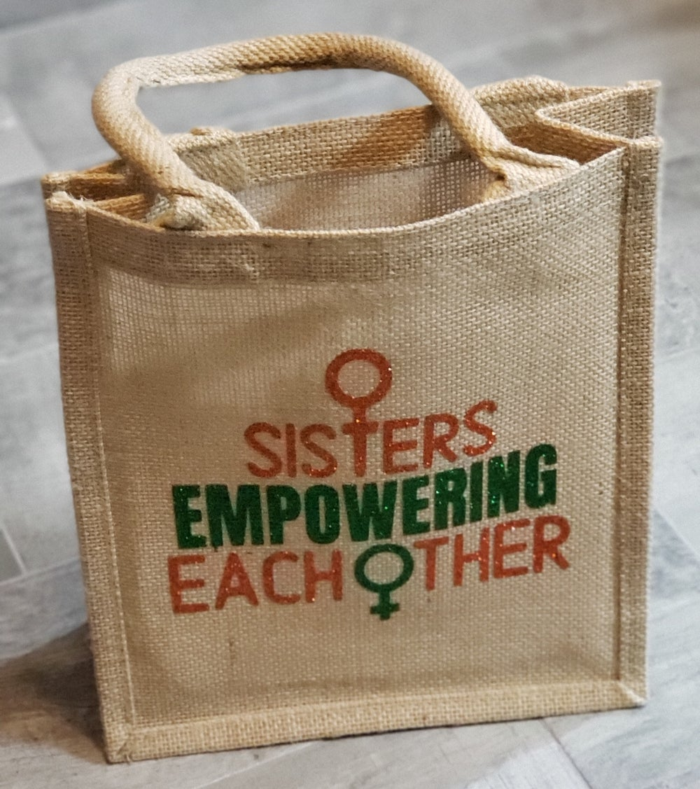 Sisters Empowering Each Other Tote Bag