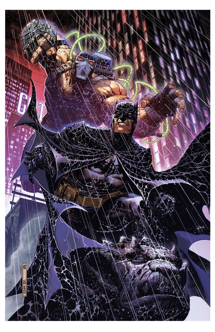 Image of BATMAN BANE Print