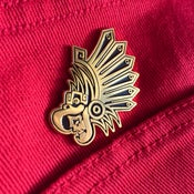 Image of Eagle Warrior Pin