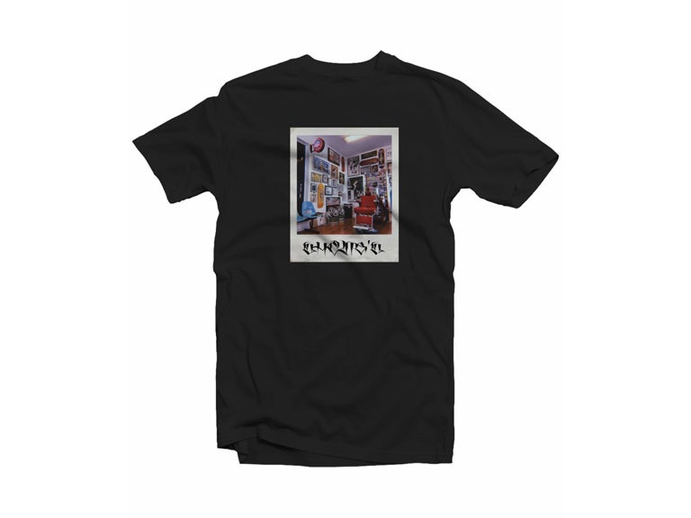 "Image of Shane's ""Polaroid"" Tee (Black)"