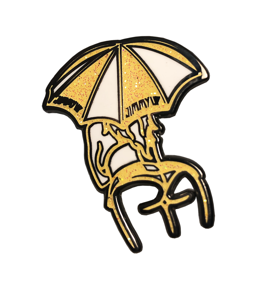 Image of 1st Edition Umbrella Girl Pin