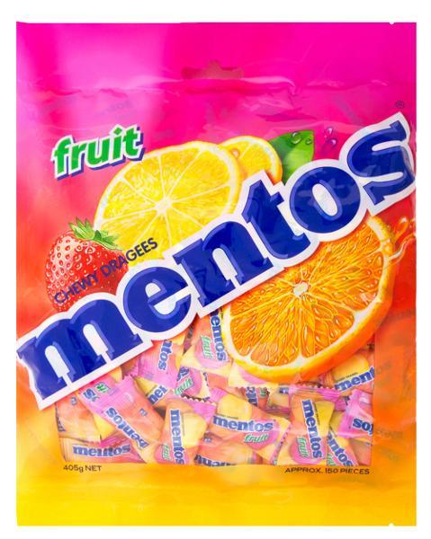 Image of Mentos Fruit Bag 405g