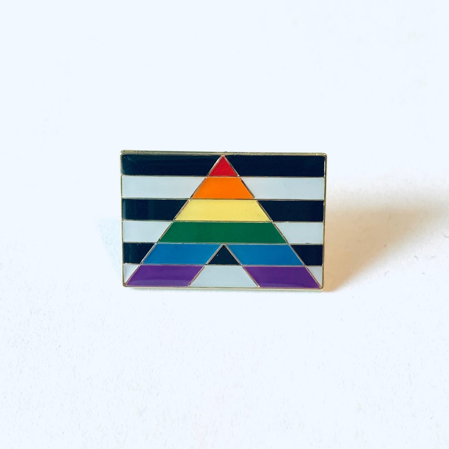 Image of LGBTQ+ Ally Flag Pin