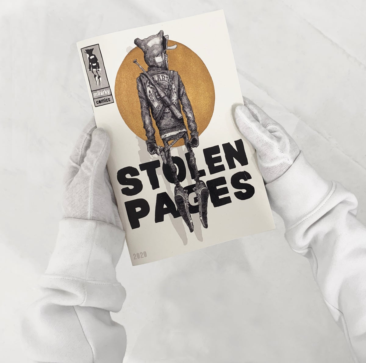 Image of ..STOLEN PAGES. COMIC BOOK