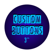 "Image of 3"" Custom Buttons"