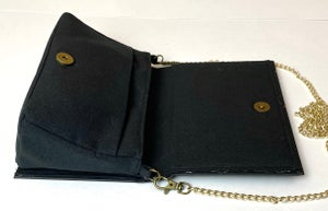 Image of Agatha Christie Book Purse, Murder on the Orient Express