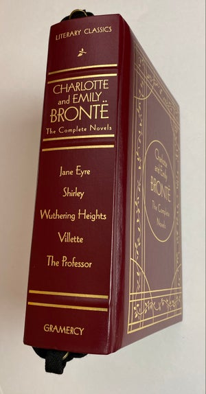Image of Bronte : The Complete Novels, Wuthering Heights, Jane Eyre Book Purse