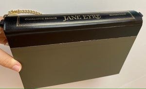 Image of Jane Eyre Grey Book Purse