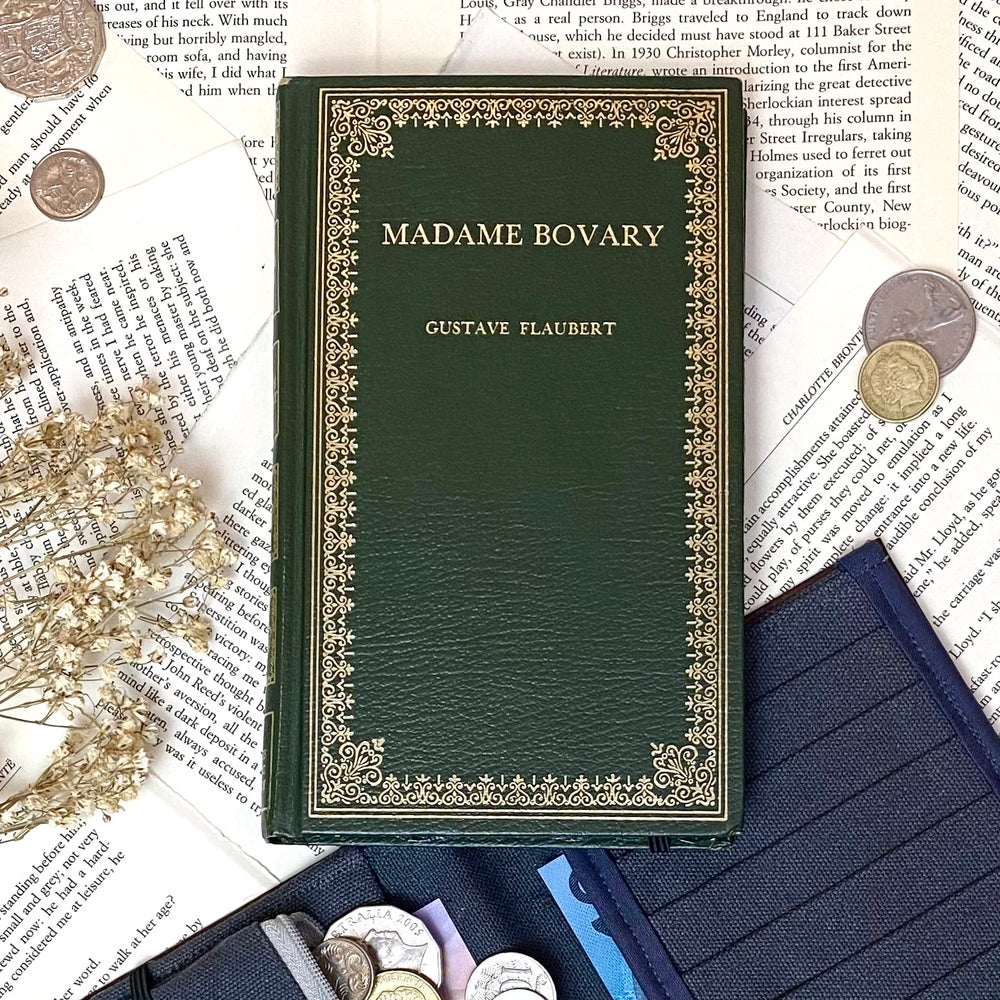 Image of Madame Bovary, Green Book Wallet