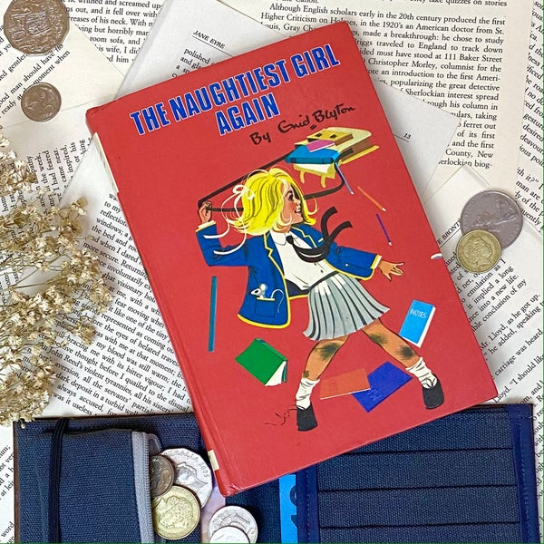 Image of The Naughtiest Girl Again, Enid Blyton Book Wallet