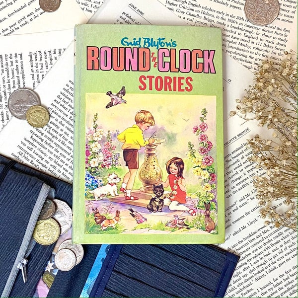 Image of Round the Clock Stories, Enid Blyton Book Wallet