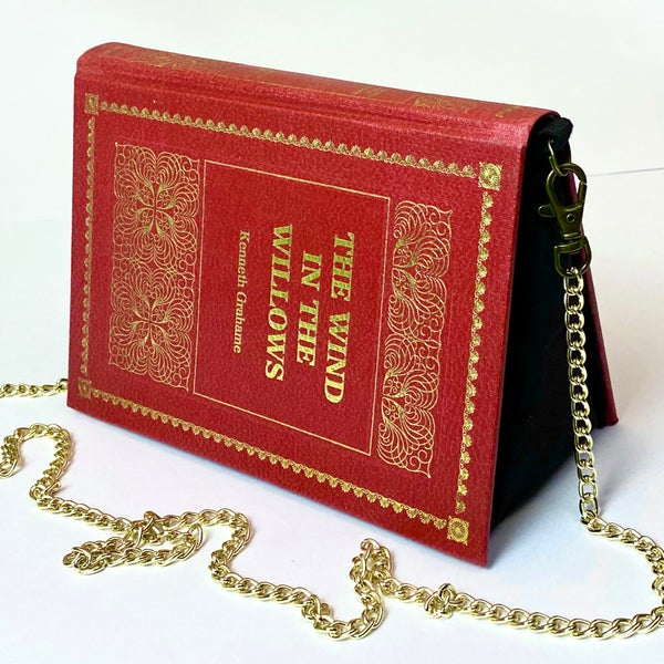 Image of The Wind in the Willows, Red Book Purse