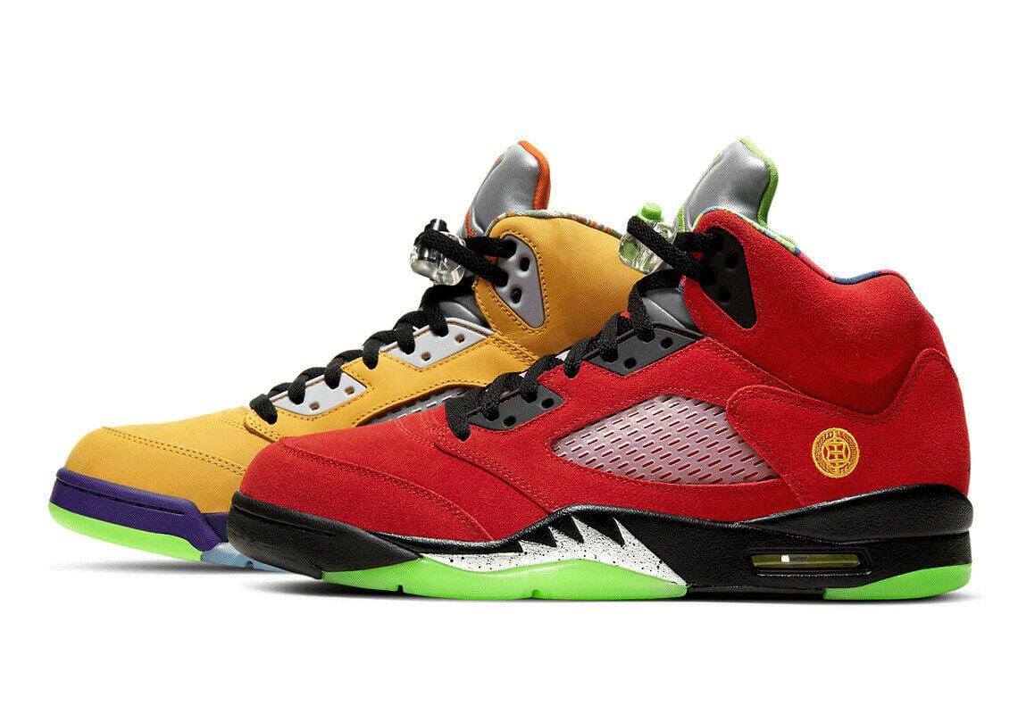 """Image of Nike Retro Air Jordan 5 """"What the"""" Sz 9.5"""