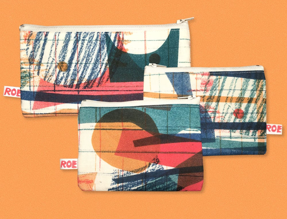 Image of COLOR COLLAGE POCKET