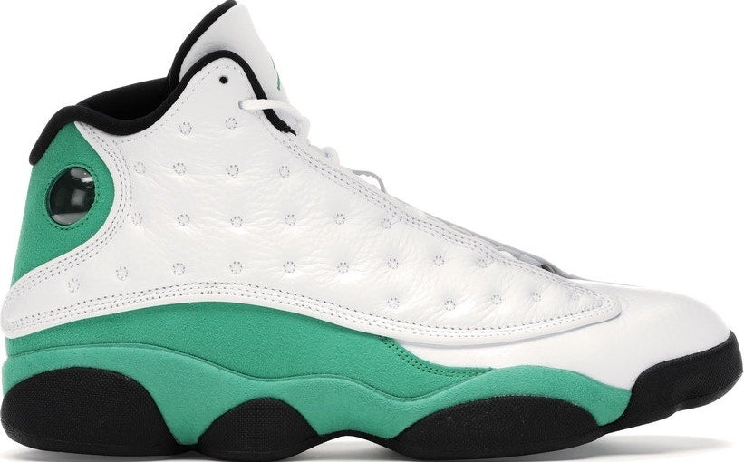 "Image of Nike Retro Air Jordan 13 ""Lucky Green"" Sz 9.5"