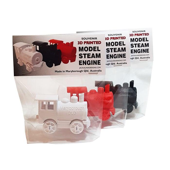 Image of Maryborough Qld. Souvenir Model Steam Engine