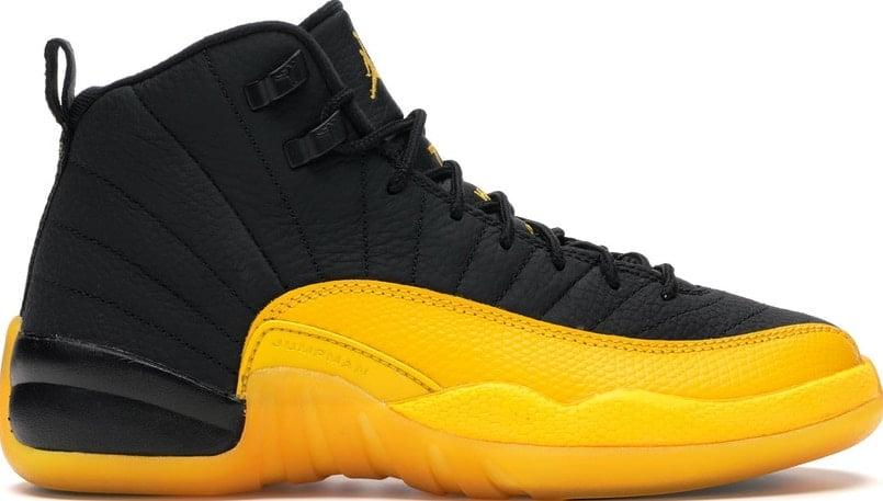 """Image of Nike Retro Air Jordan 12 """"Gold"""" GS Sz 6Y"""
