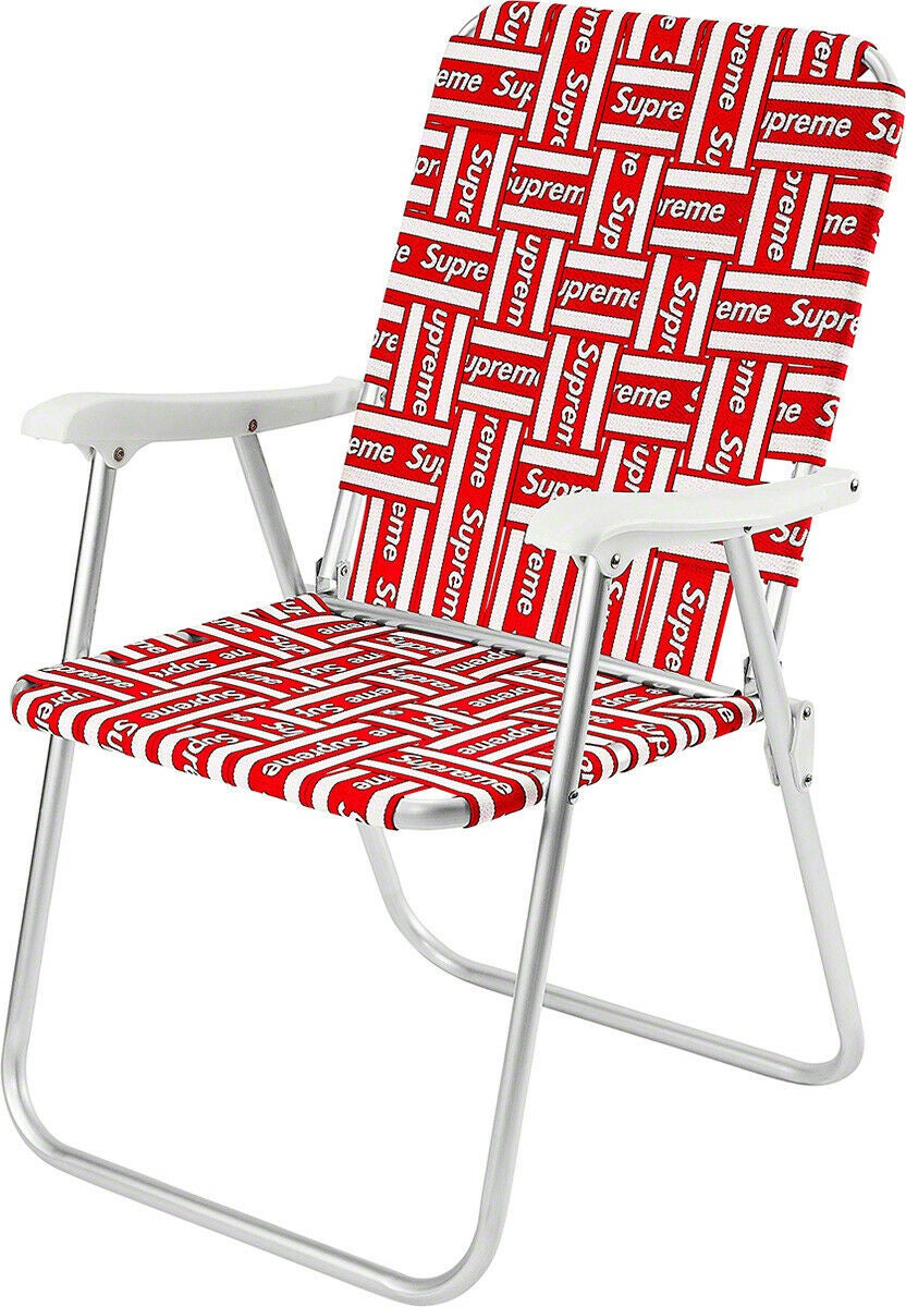 Image of Supreme Lawn - Beach Chair Red