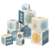 Stacking Alphabet & Number Blocks - Blues