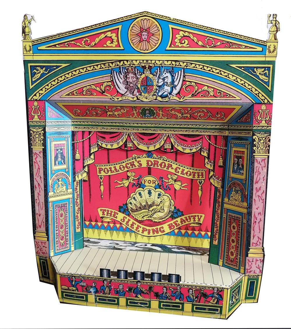 Image of Teatrillo de Papel - Paper toy Theatre - Teatrino di carta - Théâtre de papier