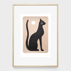Image of Limited edition lithography 37 x 50 cm 'Chat Noir'