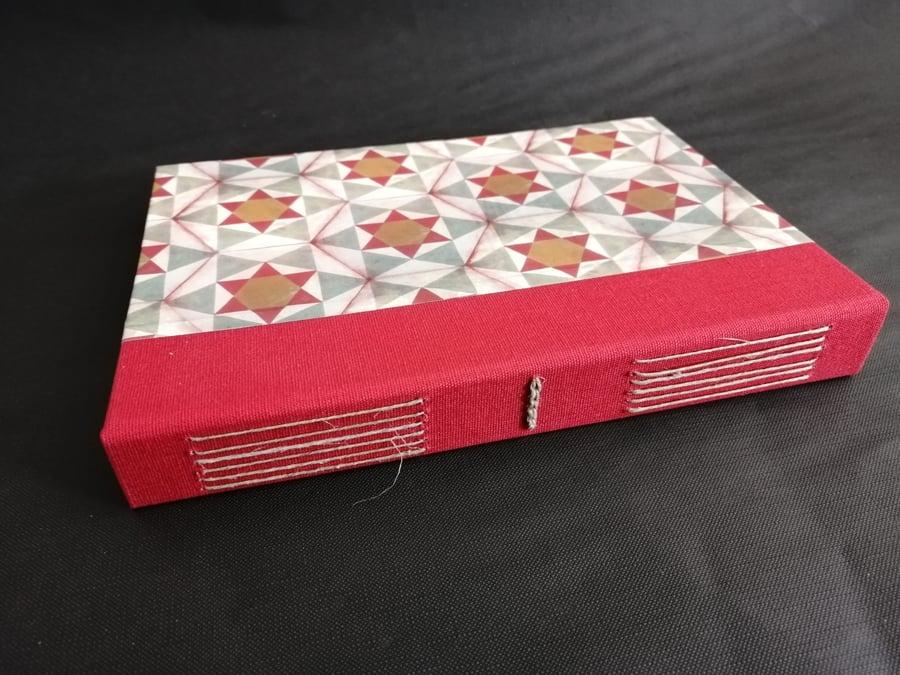 Image of Cuadernos artesanales costura vista -  Handmade notebooks longstitching binding