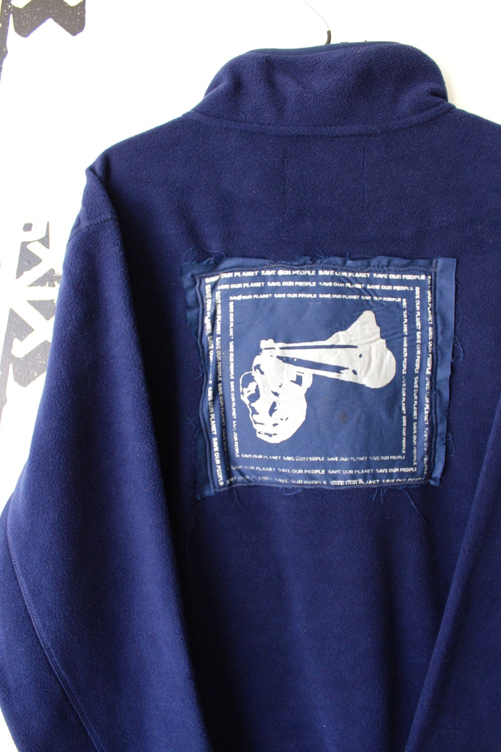 save up pull over sweater in navy