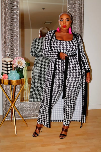 Image of Houndstooth 3 pc Set