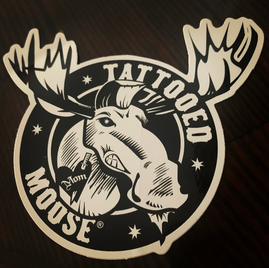 Image of Moose Sticker